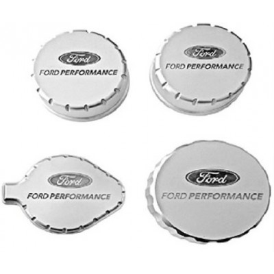 Ford Performance 4 pieces Aluminum cap covers Mustang GT GT350 350R 2015-2019