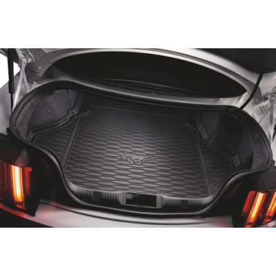 Ford Trunk mat rubber with running horse logo Mustang 2015-2019