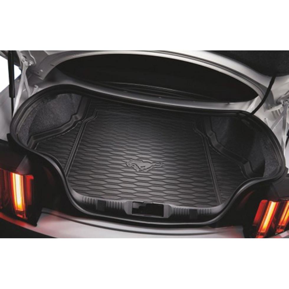 Ford Trunk Mat Rubber Running Horse Logo Mustang 2015 2017