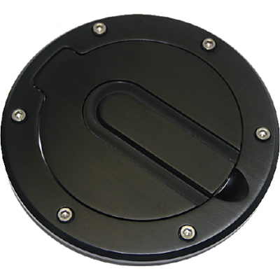 SHR Fuel door no logo black Mustang 1994-2004