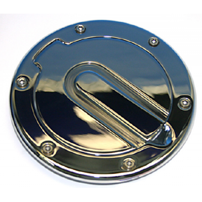 SHR Fuel door chrome plated no engraving Mustang 1994-2004