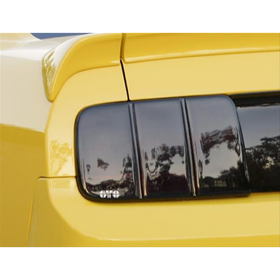 BlackOut Taillight Covers GT Styling GT4810X BlackOut Taillight Covers Carbon Fiber 2 pc