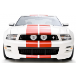 3d Carbon E-Style Grille 2010-2012 Mustang GT