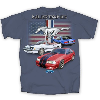 Men's Fox Body Indigo T-Shirt