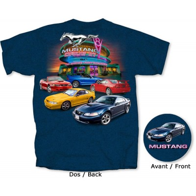 Men's T-Shirt Mustang 1994-2004 Generation