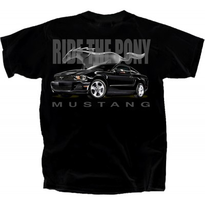T-Shirt Homme Ride the Pony Mustang