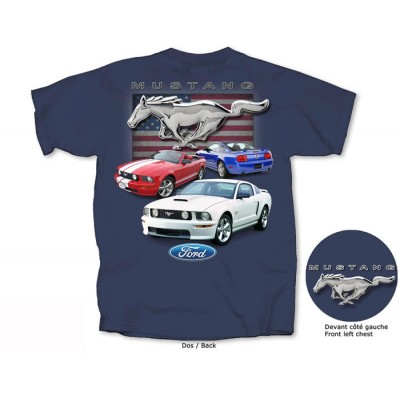 T-Shirt Homme Collection Mustang 2005-2009