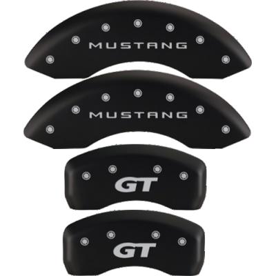 MGP Couvre etrier noir logo Mustang et GT Mustang 1999-2004 GT V6
