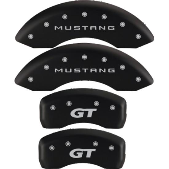 MGP Couvre Étrier Noir logo Mustang GT 2015-2021 Mustang GT sans Brembo
