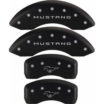 MGP Couvre etrier noir logo Mustang et Pony Mustang 2005-2010 GT V6