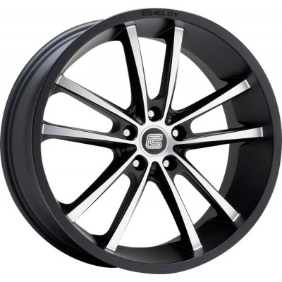 Carroll Shelby CS-2 Wheel 20'' x 9'' Satin Black with Machined face 2005-2021 Mustang GT/V6/EcoBoost/GT500