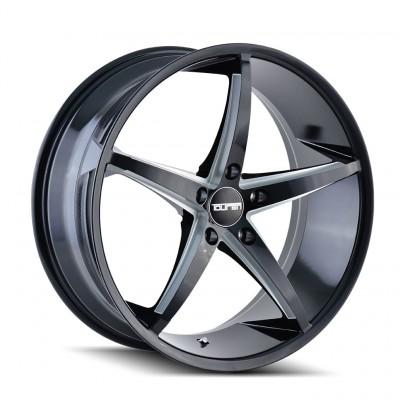 Touren TR70 Noir / machiné 2005-2020 Mustang GT/V6/EcoBoost