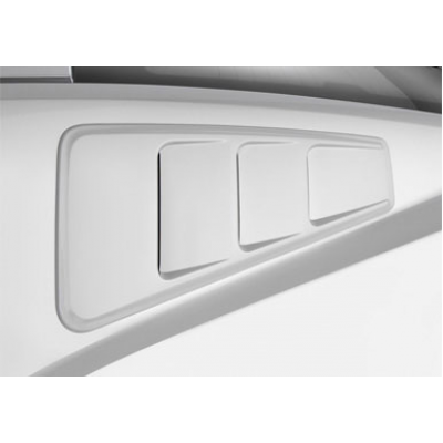 Roush Quarter Window Louver Mustang 2005-2014