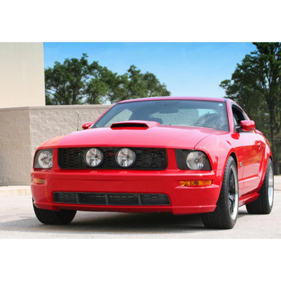 Shr Lower Grill Inserts Mustang 2005 2009 Gt Shr S197 200 Gt