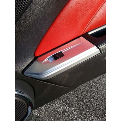 SHR Tru-billet window plate set Mustang 2010-2014 coupe