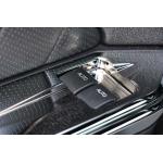 SHR Plaque d'interrupteur de Porte Chromé 2010-2014 Mustang Coupé
