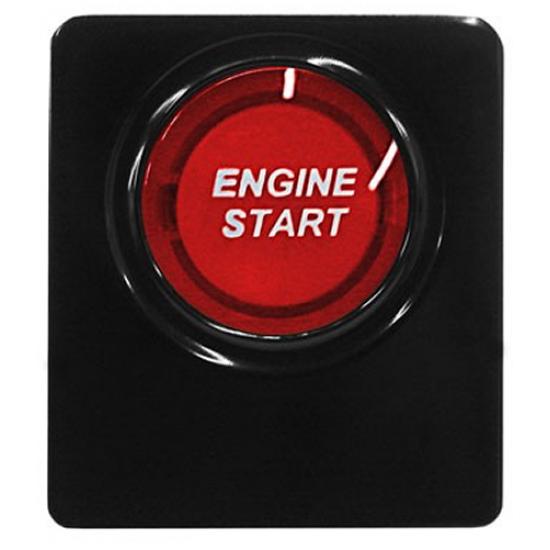 SHR Bouton de Démarage illuminé Rouge 2010-2014 Mustang