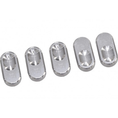 Steeda Polished Billet Aluminum Window Switch Buttons 1994-2004 Hardtop
