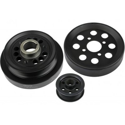 Steeda Underdrive pulleys Mustang 1996-2000 GT Mid 2001 GT