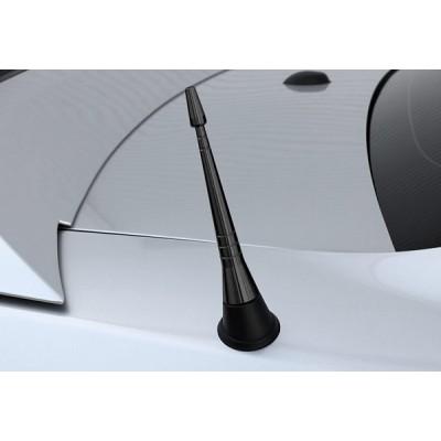 Steeda Antenne court Noir Aluminum 2010-2014 Mustang