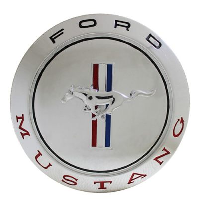 SBG Mustang plated wall plaque