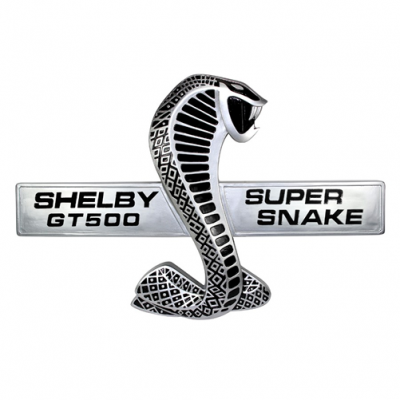 SBG Shelby GT500 Super Snake wall plaque