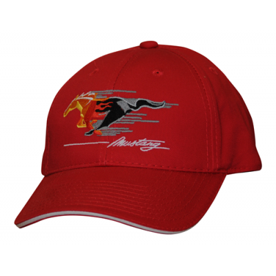 Mustang Flamed pony cap