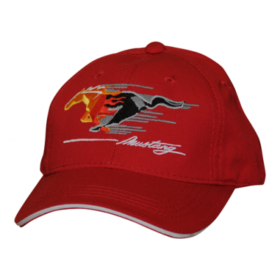Mustang Children cap flamed pony