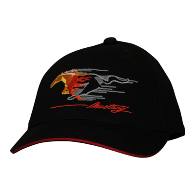 Mustang Men's cap flamed pony