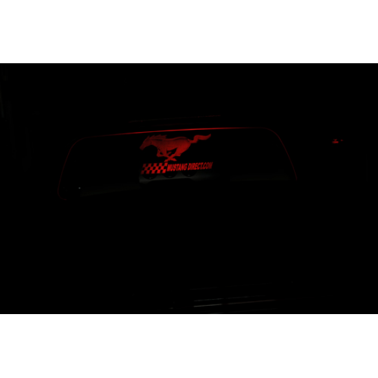 WindRestrictor logo Pony avec illumination rouge Mustang Décapotaable 2015-2019