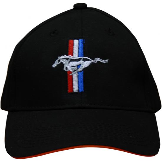 Casquette Mustang barres et Pony