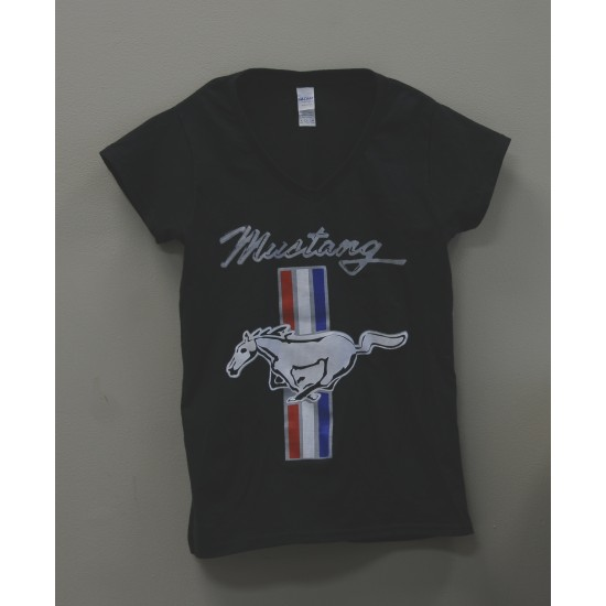 Women's T-Shirt Mustang bars & Pony